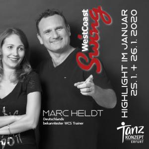 Ankündigung West Coast Swing Highlight 2020 mit Marc Heldt
