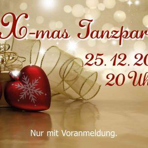 X-mas Tanzparty 2019 Werbebild